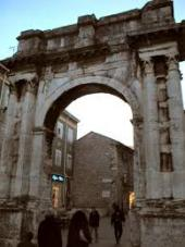 TRIUMPHAL ARCH OF THE SERGI