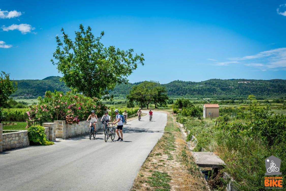 Cycling: Dubrovnik area, Konavle