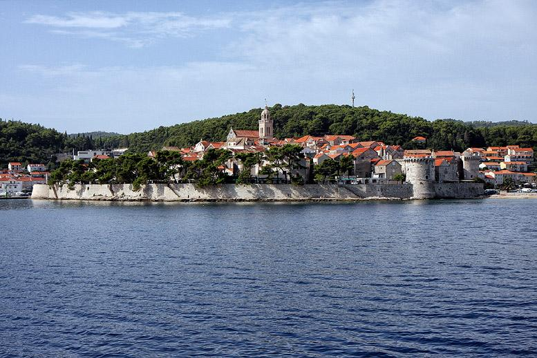 Cycling: Korcula island