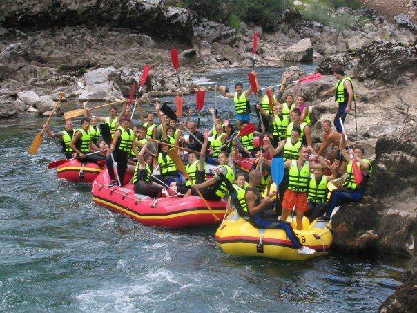 Day Trips: Rafting on the Neretva river