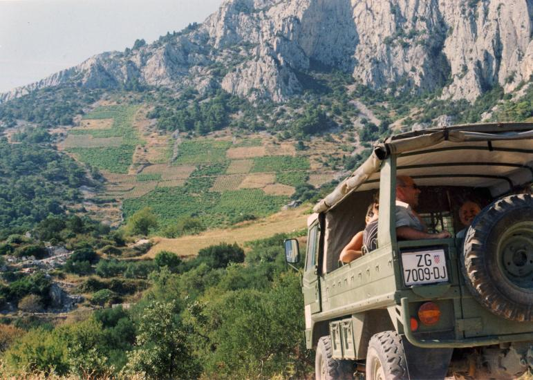 Trip: Island of Hvar, Off-Road safari