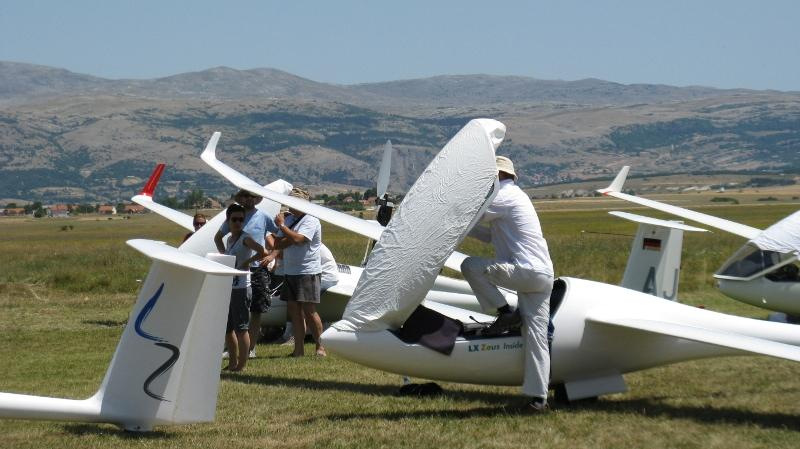 Air gliding and flying school Livno