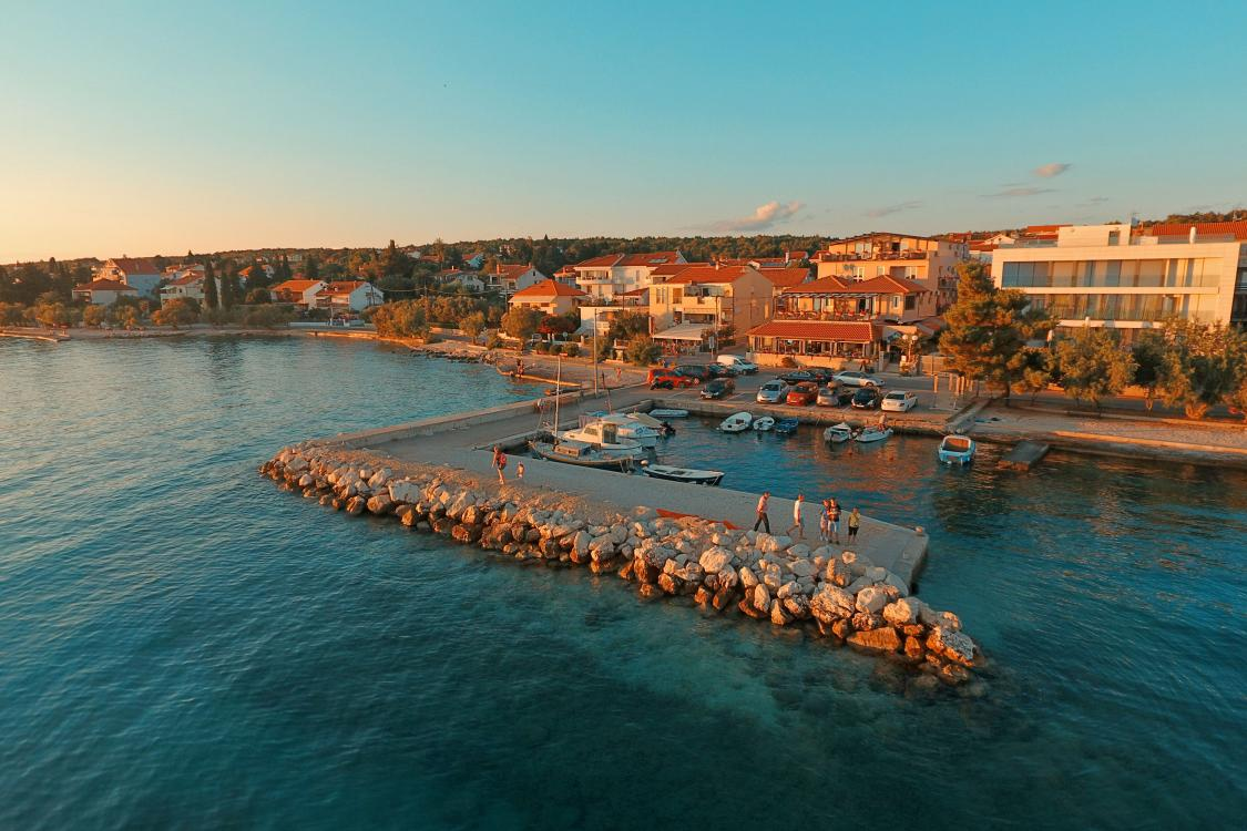 Hotel delfin north dalmatia zadar for Hotels zadar