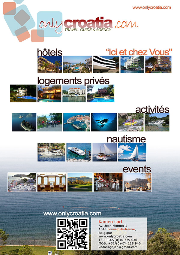 Onlycroatia brochure 2013 - FIRST PAGE