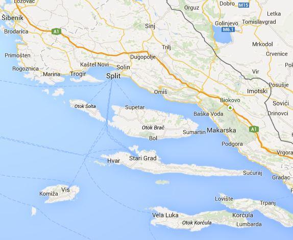 central dalmatia croatia -#main